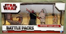 Star Wars Legacy TATOOINE DESERT AMBUSH; Maul, Sith Speeder, Qui-Gon, and Anakin