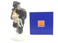 Figurine Tintin Yéti Portant Tchang / Pixi [Etat Neuf Certificat]