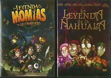 2 dvd La leyenda de las momias de Guanajuato   &   la leyenda de la nahuala