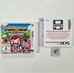 Nintendo 3DS/2DS Spiel GARDENING MAMA FOREST FRIENDS dt Wald/Pflanzen/Ernte/Tier
