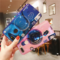 Fashion Pattern Camera Back Cover TPU Phone Case For OPPO R15 R17 / R15 R17 Pro