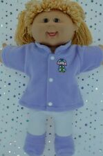 """Play n Wear Doll Clothes For 16"""" Cabbage Patch LILAC JACKET~TIGHTS~BOOTIES"""