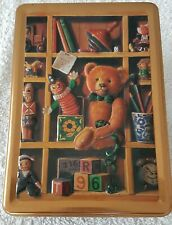 A Lovely 3d Teddy Bear Biscuit Tin (No Biscuits In The Tin)