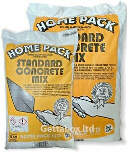 Home Pack Ready Mix Standard Concrete - Rapid Setting 10KG , 20KG Bag