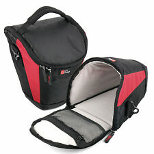 Professional Black and Red Carry Case Bag for Nikon D60, D70, D80, D90