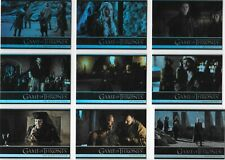 Game of Thrones season 7 - 81 card FOIL base set