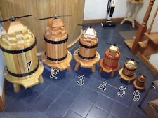 Wooden Wine Presser 24h X 13w X 32d (HANDMADE) Price Is For #4 Only