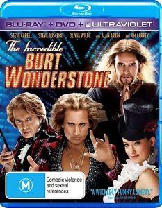 The Incredible Burt Wonderstone BRAND NEW 2 DISC BLU RAY DVD SET jim carrey