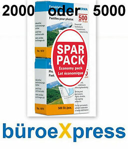 2x500 Fotokleber festklebend Herma Photo Pads Foto Kleber Stickers TOPPREIS