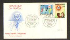 AFRIQUE - SENEGAL / LUTTE CONTRE LE RACISME / PREMIER JOUR 1971