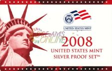 2008 U.S. Mint Silver Proof Set with State Quarters NIP