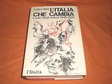 celso ghini  il  voto degli italiani 1946-1976 l'unità 1977 750 pagg