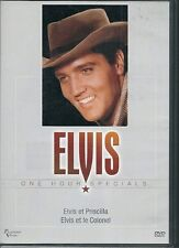 DVD DOCUMENTAIRE--ELVIS PRESLEY / ELVIS & PRISCILLA / ELVIS & LE COLONEL