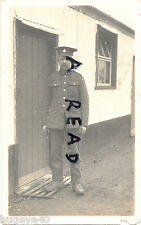 WW1 soldier AVC Army Veterinary Corps