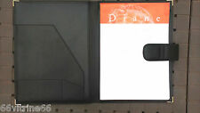 conférencier VRAI CUIR A4 porte document note correspondance dessin