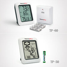 Digital Lcd Indoor Outdoor Tp60-50 Thermometers Hygrometer Humidity Temperature