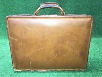 Vintage  Hartmann Belting Leather Briefcase Hard Case Attache Executive