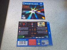 REZ  PAL  Sega Dreamcast Replacement  Inlays.Reproduction