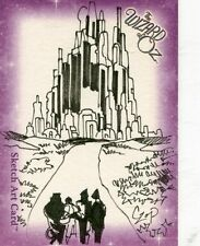 The Wizard Of Oz Collector Cards Sketch Art Card CZOP