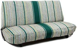 Green SaddleBlanket Bench Seat Covers for FULL SIZE DODGE PICKUP TRUCKS