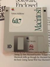 Apple Macintosh System Additions disquette pour plus, se et classique