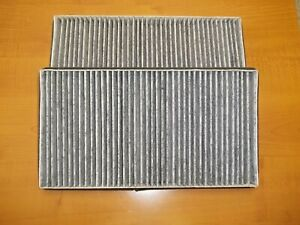 For 2006-2010 BMW 550i Cabin Air Filter Set 67215ZH 2007 2008 2009
