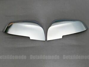 PROMO coque rétroviseur alu BMW série 1-2-3-4-X1 (aluminium rétro chrome mat)