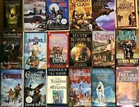 LOT OF 6 FANTASY RANDOM MIX paperback books  SHIPS FREE