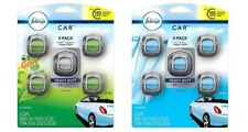 FEBREZE Car Vent Clips 2 ml Air Freshener CHOOSE ONE Linen & Sky Or Gain - 5 pcs