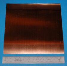"Copper Sheet / Foil, .002"" (0.05mm), 6x6"""