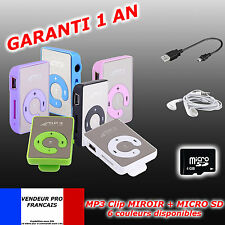 LECTEUR MP3 MINI CLIP + MIcro CARTE SD CARD 4GO GB + cable