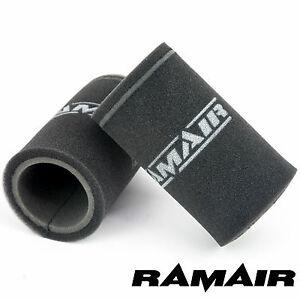 RAMAIR 2 X Simple Carburant Pile de Vitesse Sac Air Filtre 165mm Orto Dhla &