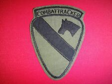 Vietnam War Hand Made Subdued Patch US COMBAT TRACKER Team 1st Cavalry Division