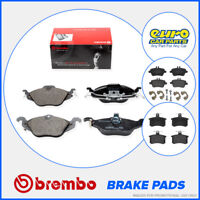 Brembo P06023 Pad Set Rear Brake Pads Teves ATE System BMW 5 Series E60 E39
