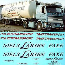 Niels Larsen MANDARE tanktransport SCANIA 111, 141, 142 ecc. 1:24 CAMION