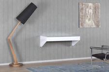 Sonorous HM 110STN-WHT Arbeitsplatz Schreibtisch Wandkonsole in weiß, 110 cm