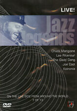 JAZZ LEGENDS MANQIONE RITENOUR GADD - DVD - REGION 2 UK
