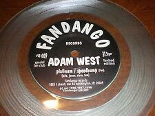 "Adam West/Mazinga 7"" Platinum/One Rude Easter Bunny CLEAR VINYL"