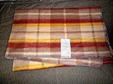 "Vintage POLISH MILITARY / ARMY Wool Blanket-Mint-Unissued-57"" X 80""-Poland-1980s"