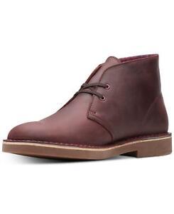 Clarks Bushacre 2 Men Leather Chukka Boots