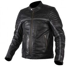 Rukka Yorkton Herren Motorrad Lederjacke schwarz - Größe 52