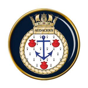 HMS Audacious, Royal Navy Pin Badge