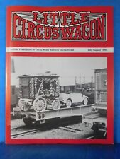 Little Circus Wagon 1994 July August Circus Model Builders International