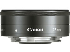 =NEW= Canon EF-M22mm F2 STM (EF-M222STM)/ for Eos M Camera Lens
