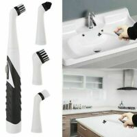 4in1 Electric Sonic Scrubber Cleaning Brush Household Brush for Bathroom