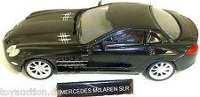 Mercedes McLaren SLR Coche deportivo CAMIÓN negro 004 NUEVO 1:43 µ