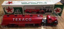 JMT Replicas Texaco 1958 B Mack Tanker Plastic Coin Bank w/lock