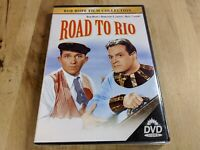 Road to Rio (DVD, 2000, Bob Hope Film Collection) New and Sealed!