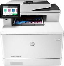 HP - LaserJet Pro M479fdn Color All-In-One Laser Printer - White