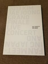 Kim Jaejoong 2013 Grand Finale Live Concert And Fan Meeting Dvd + Photobook